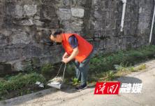 【三大行动】隆回县委办开展志愿者服务活动 创造干净卫生社区环境