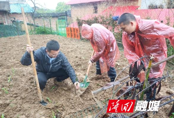 """省政协到隆回开展委员""""万户帮扶""""行动"""