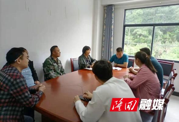 隆回县人社局乡村振兴驻村工作队到岗履职