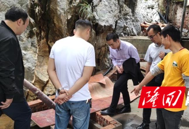 【蓝天保卫战】西洋江镇新任党政负责人带队督查蓝天保卫战工作