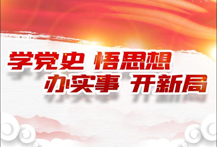 """隆回县地质灾害防治中心支部开展""""学史力行""""专题学习研讨"""