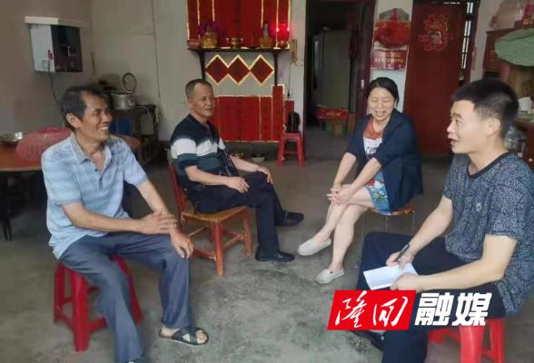 隆回县自然资源局驻清江村振兴工作队积极开展工作