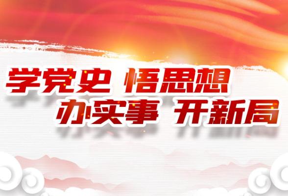 隆回县地质灾害防治中心推动党史学习教育走深走实