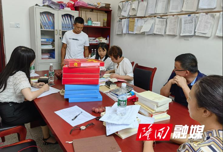 七江镇全面开展村级党建工作检查
