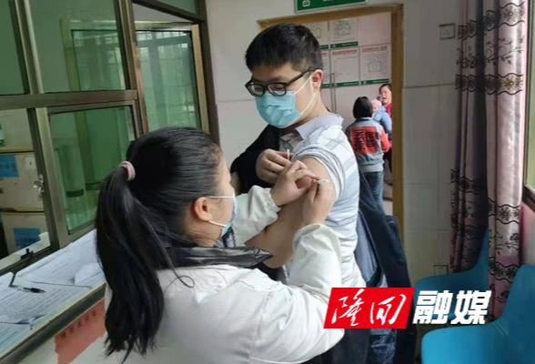 高平镇有序推进新冠疫苗接种工作