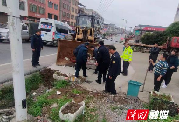 周旺镇:打造G320国道文明样板路 重拳整治交通顽瘴痼疾