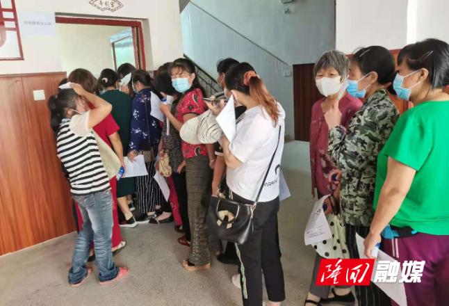 """南岳庙镇开展""""两癌""""检查 为妇女健康撑起""""保护伞"""""""