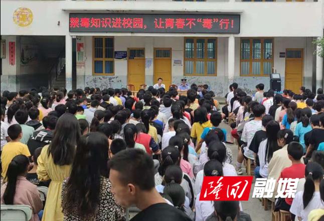 大水田乡:禁毒、防范电信网络诈骗宣传进校园