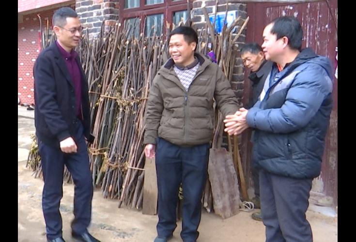 【新春走基层】彭松青到北山镇大塘村走访慰问困难群众和老党员
