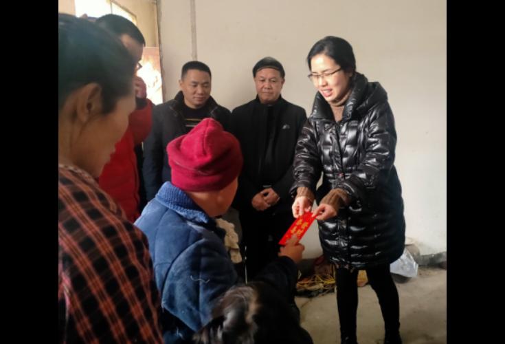 【新春走基层】李翠婷到大水田乡走访慰问困难群众