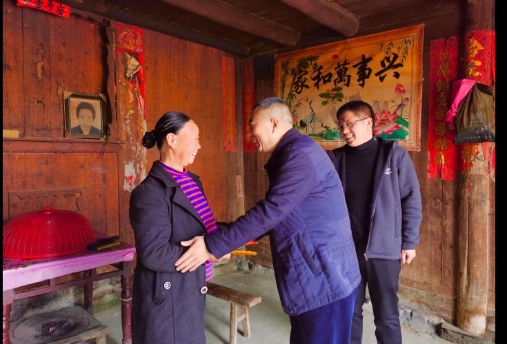 【新春走基层】宁玉光到虎形山瑶族乡慰问困难群众