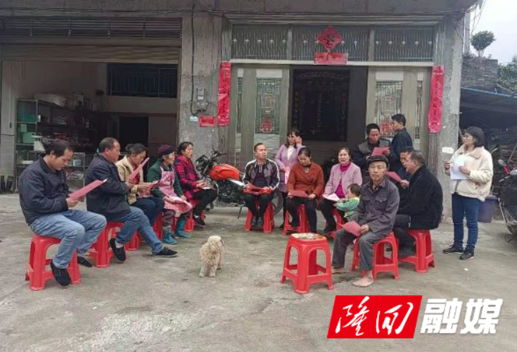 隆回县大水田乡积极组织召开民意调查恳谈会