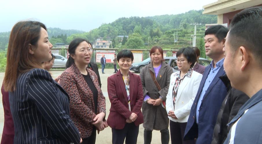 钟斌来隆回县调研基层妇联换届工作 勉励妇女同胞积极参与乡村振兴