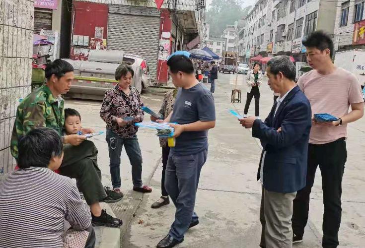 罗洪镇开展5.12防灾减灾宣传活动
