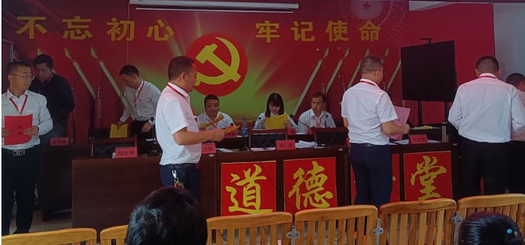 中国共产党隆回县罗洪镇第二次代表大会召开