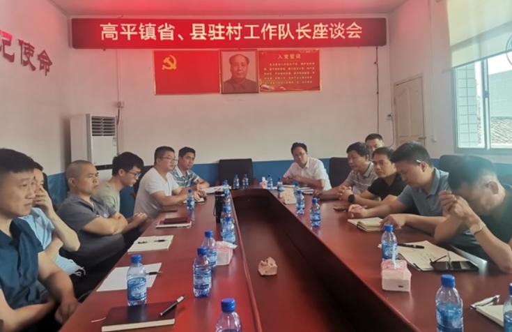 高平镇召开乡村振兴省、县驻村工作队员座谈会