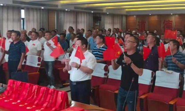 """隆回县自然资源局举行庆祝""""建党100周年""""大会"""