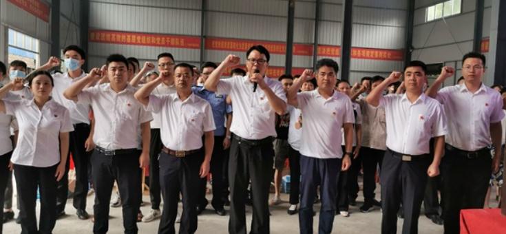 """隆回县高平镇举行庆祝中国共产党成立100周年""""七一""""表彰暨党员轮训大会"""