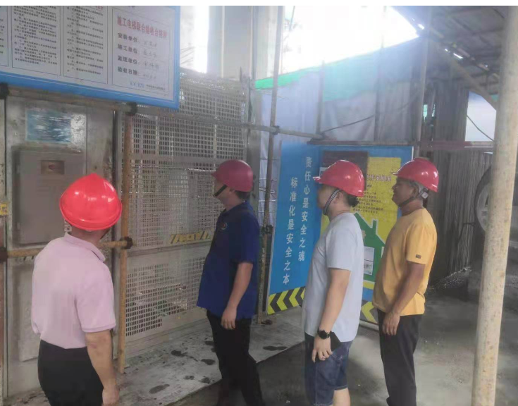 县住建局开展建筑施工起重机械安全生产专项整治