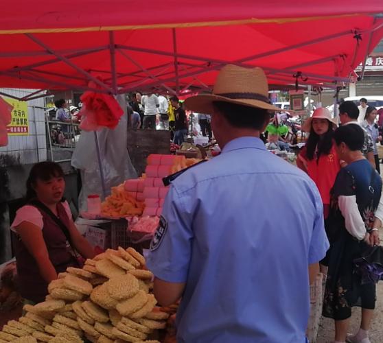 麻塘山乡扎实开展农村食品安全专项整治行动