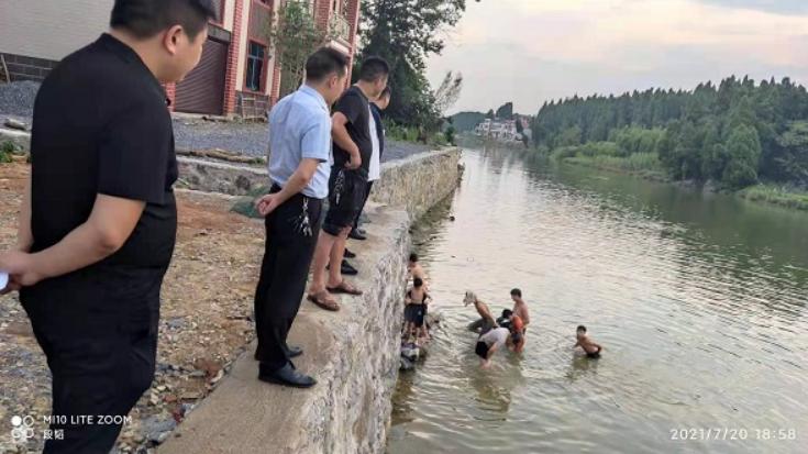 西洋江镇:织密防护网 筑起防溺水安全墙