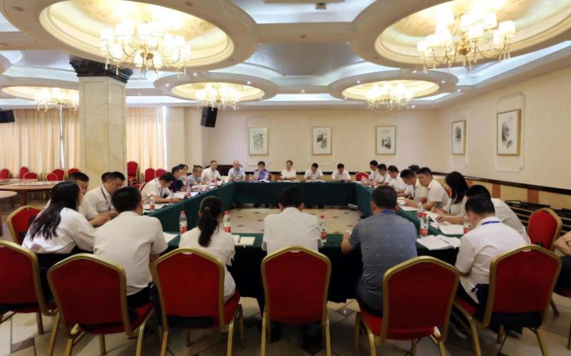 刘军等参加中国共产党隆回县第十三次代表大会第四代表团讨论