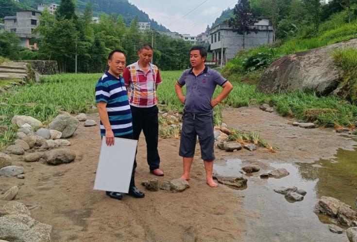 中华联合保险公司助力麻塘山乡农业救灾工作