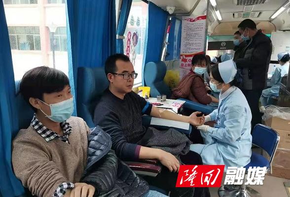 西洋江镇:无偿献血 让爱传递