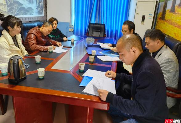 县总工会到罗洪镇开展基层工会调研工作