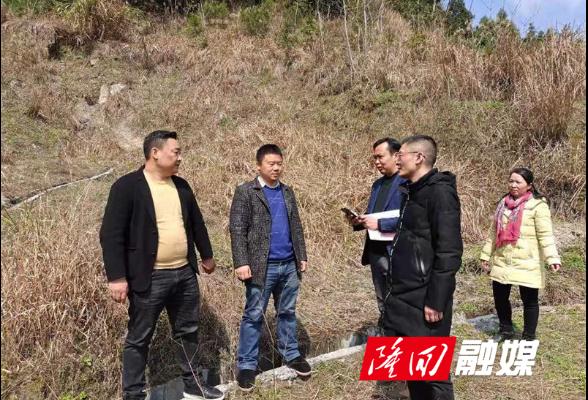 隆回县自然资源局开展地质灾害隐患排查工作