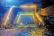 金阳大道三期项目——道吾山隧道平均每天掘进12米
