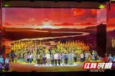视频组图 | 大型史诗歌舞剧《大地颂歌》迎来二次彩排