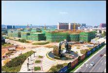 金阳·紫星广场项目一期一区全面封顶