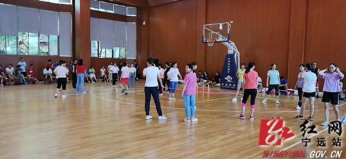 """宁远30多位体育教师赴长沙进行专业素养""""充电""""_副本500.jpg"""