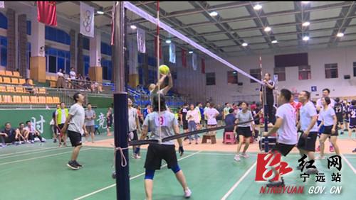 宁远县举行庆祝中国共产党成立100周年 庆祝新中国成立72周年干部职工气排球比赛2_副本500.jpg