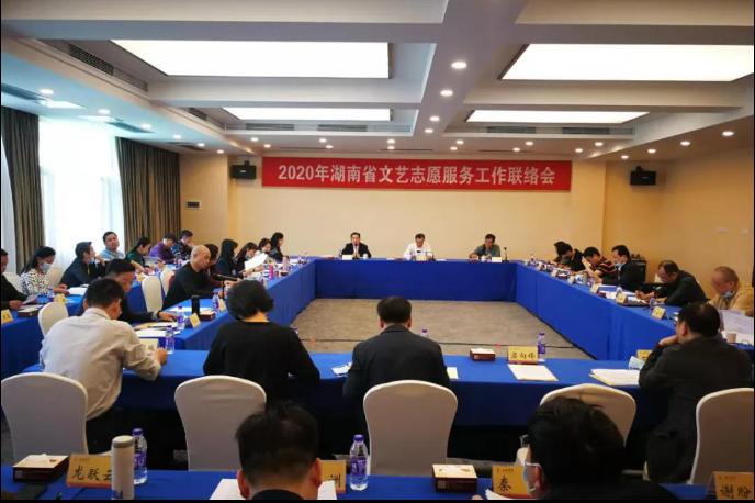 2020年湖南省文艺志愿服务工作联络会召开