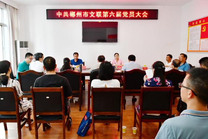 郴州市文联召开第六届党员大会