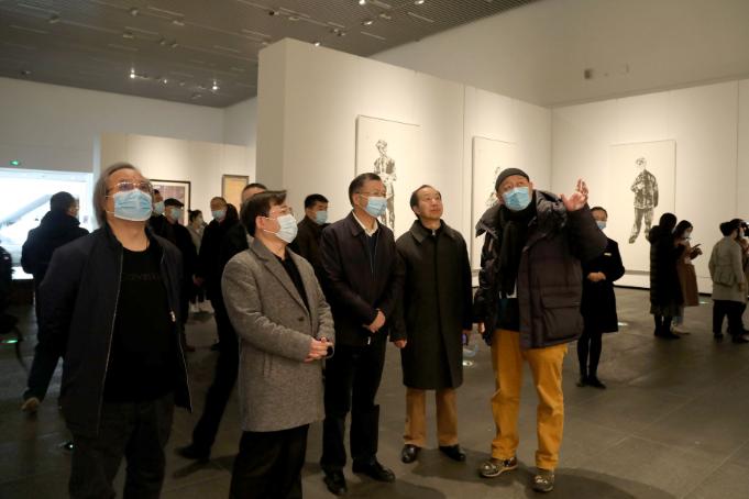 """第二届""""湖南•中国画双年展""""在长沙开幕"""