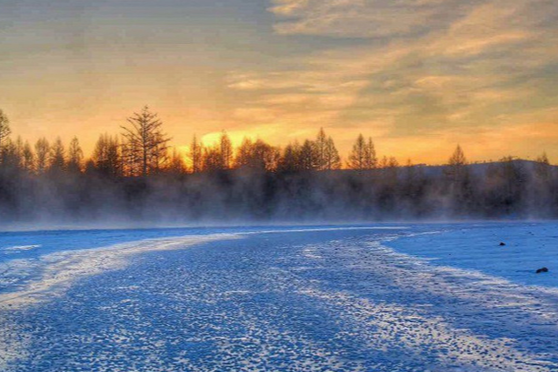 冯祉艾:漠河的冰雪