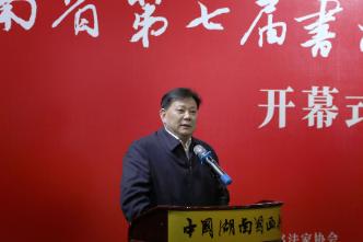 湖南省第七届书法新人新作展在长沙开展