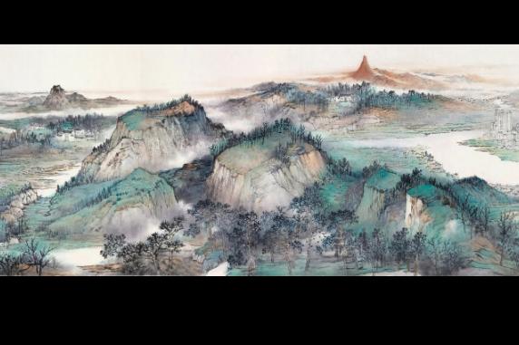 千里江山入画来  ——从《锦绣潇湘·南岳衡山七十二峰图》看到什么