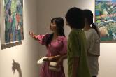 """""""归于艺术——刘勉怡油画作品展""""在长举办"""